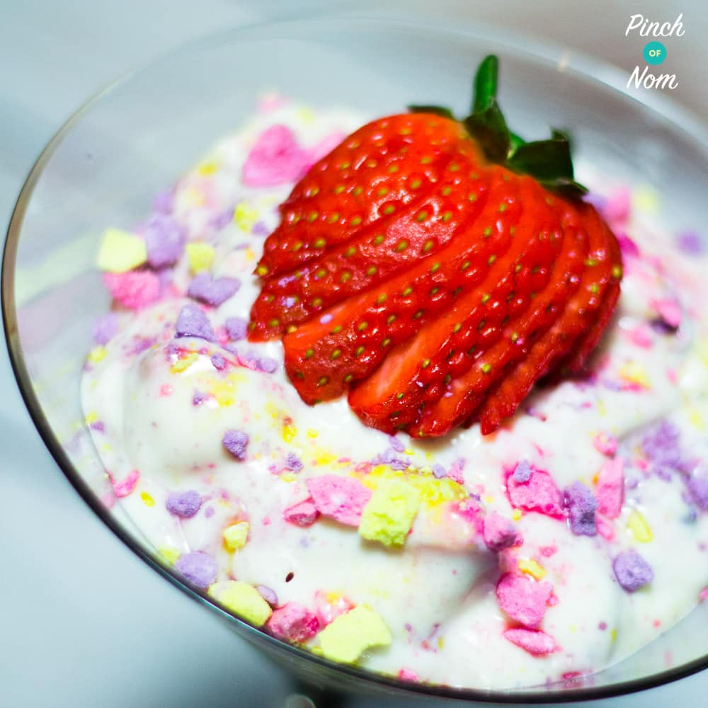 Unicorn Mess Featured - Low Syn Unicorn Eton Mess | Slimming World