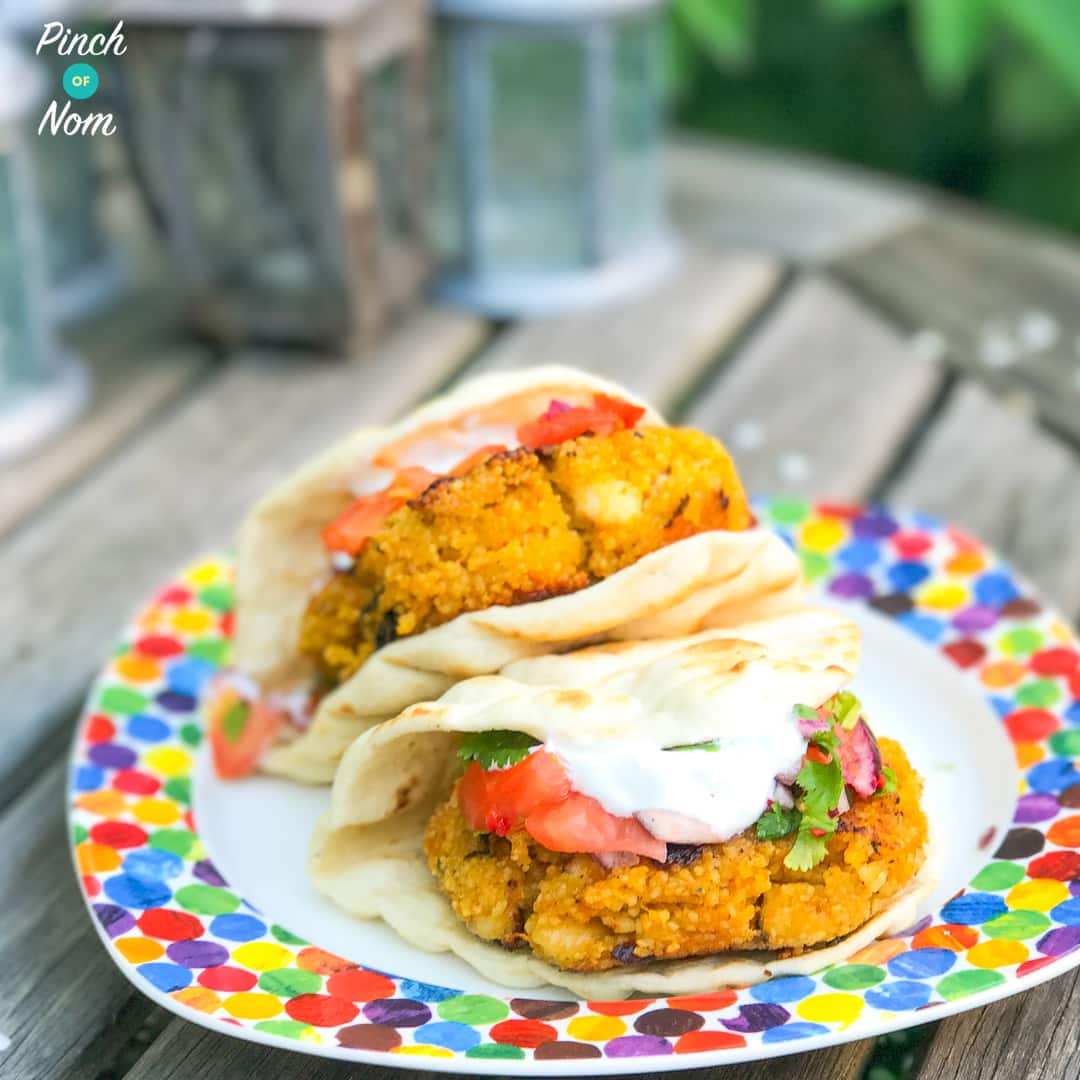 Syn Free Halloumi Cous Cous Burgers with Salsa | Slimming World-1