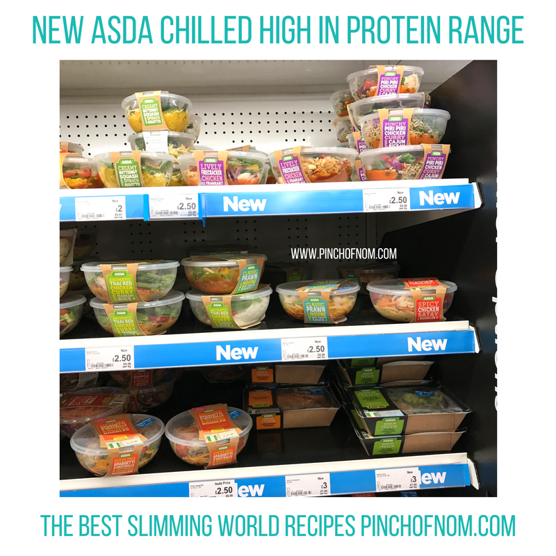 Food Storage Containers Asda Part - 37: Asda High Protein - Pinch Of Nom Slimming World Shopping Essentials May