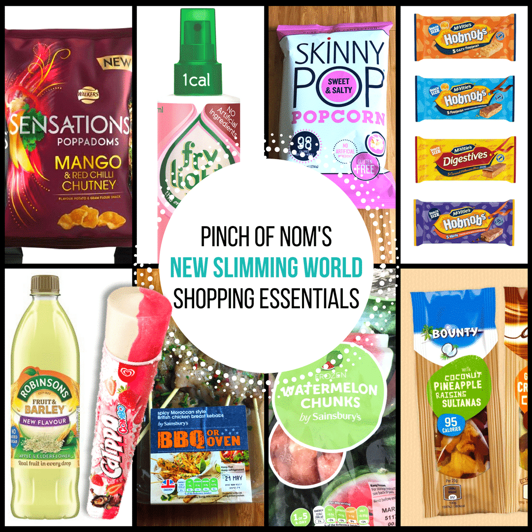 pinch of nom slimming world essentials may 2017