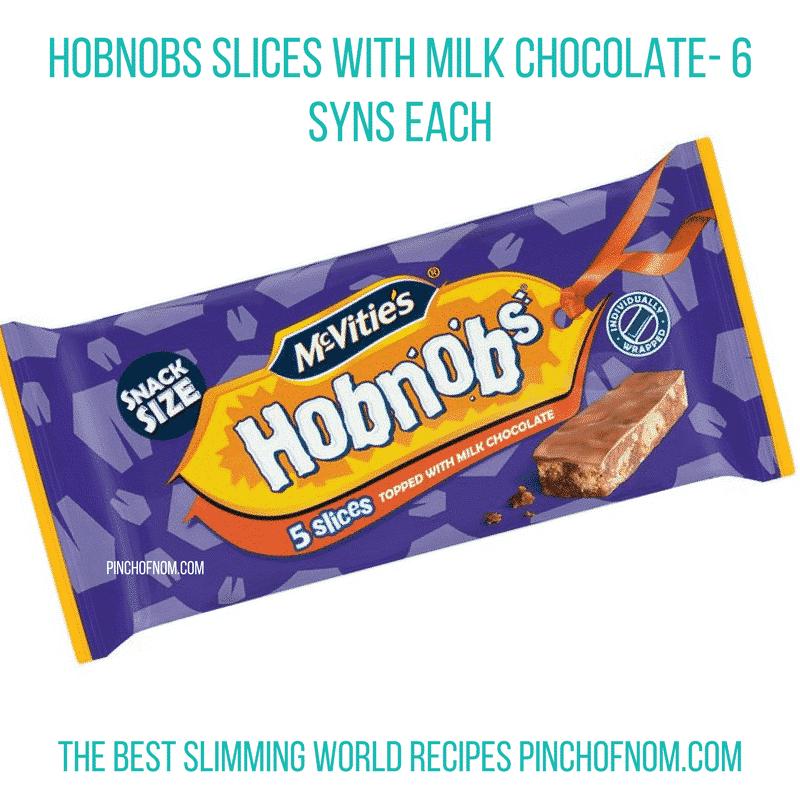 hobnob chocolate slices - pinch of nom slimming world essentials may 2017