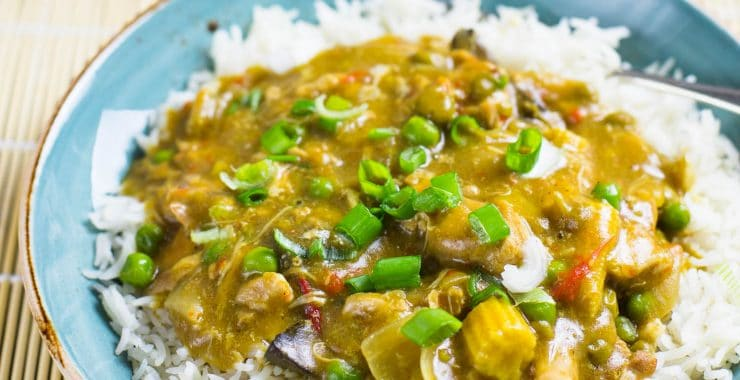 Low Syn Chinese Chicken Curry | Slimming World