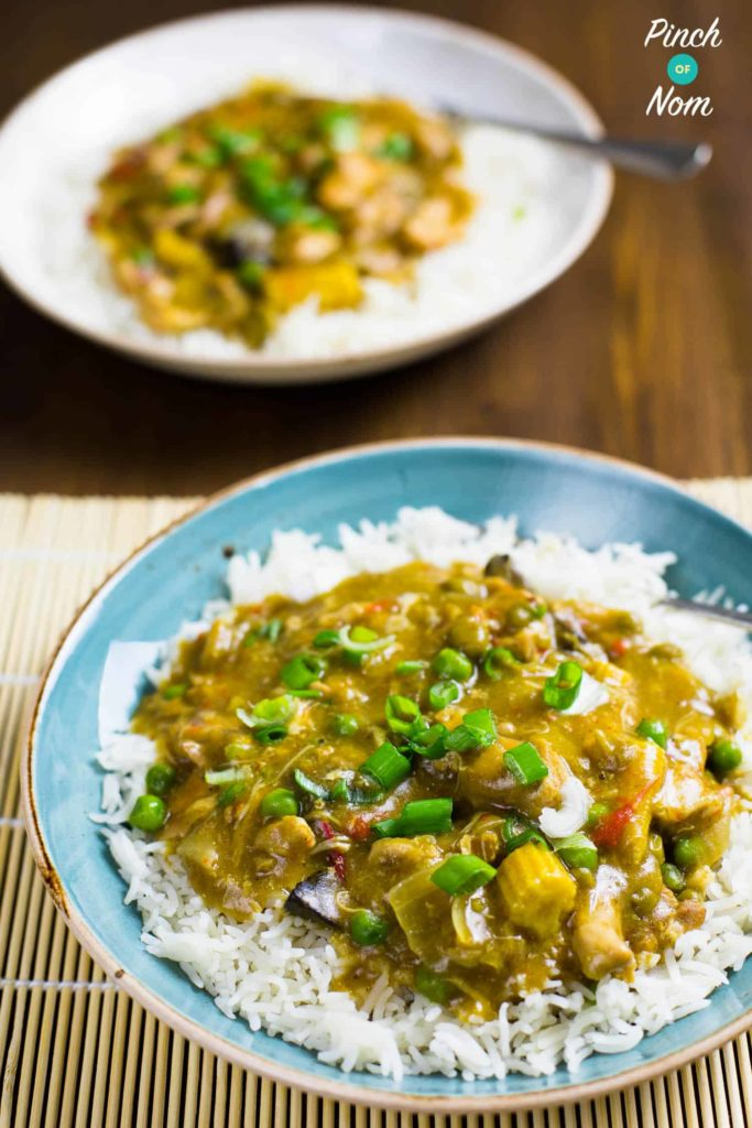 Chinese chicken curry on slimming world