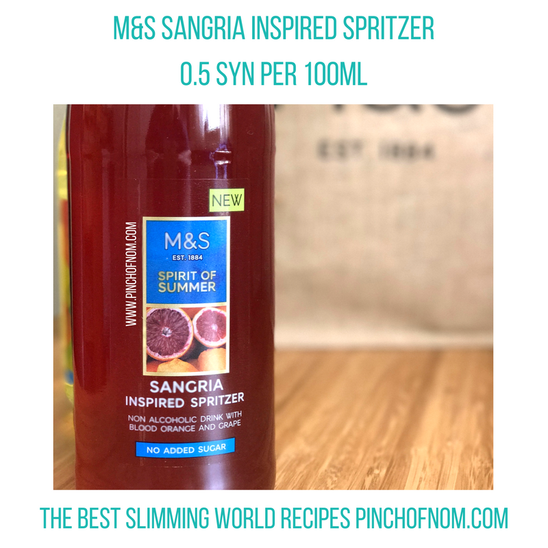 mands sangria - pinch of nom slimming world shopping essentials may
