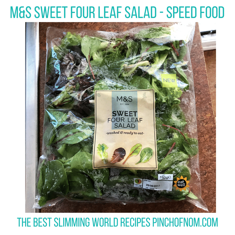 mands sweet four leaf salad- New Slimming World Shopping Essentials - 25:5:17