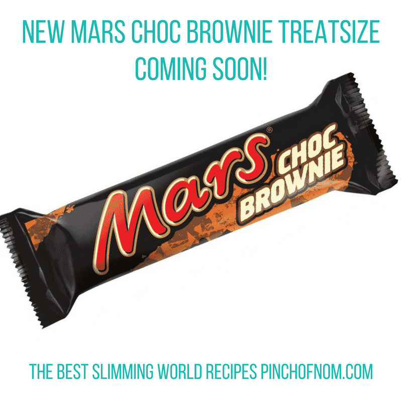 new mars bar - pinch of nom slimming world shopping essentials may