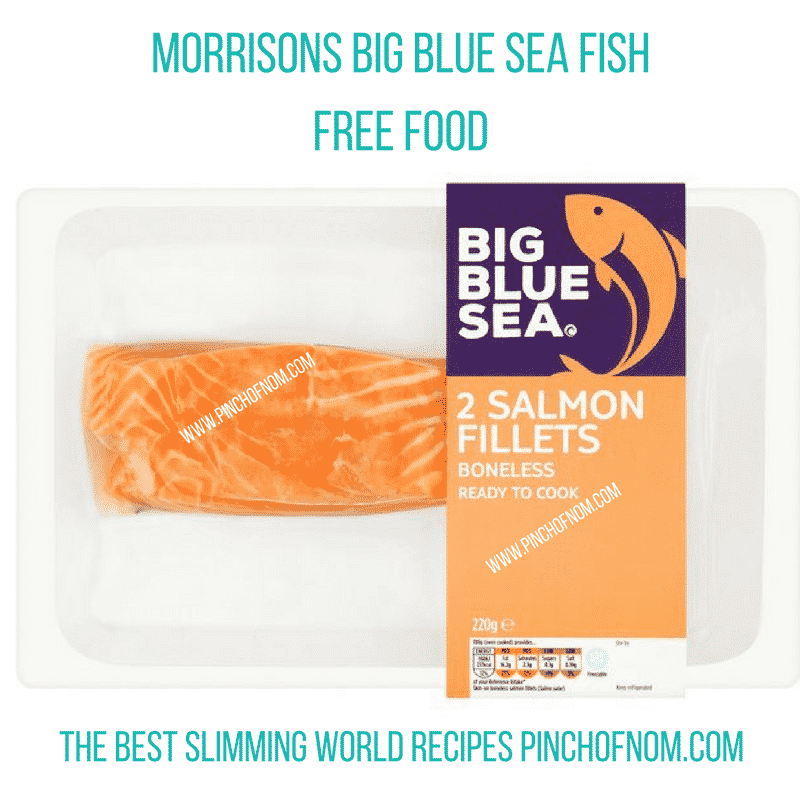 morrisons big blue sea salmon - New Slimming World Shopping Essentials - 25:5:17