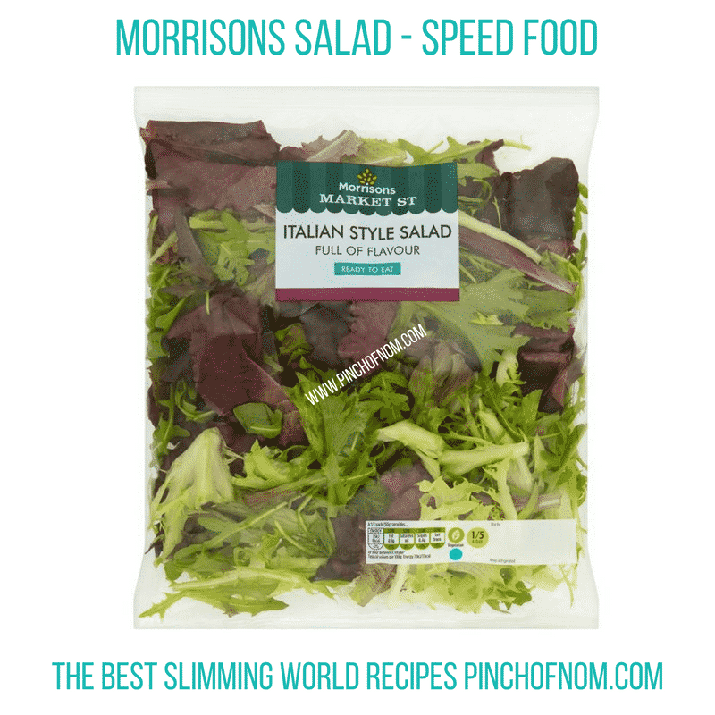 morrisons italian salad - New Slimming World Shopping Essentials - 25:5:17