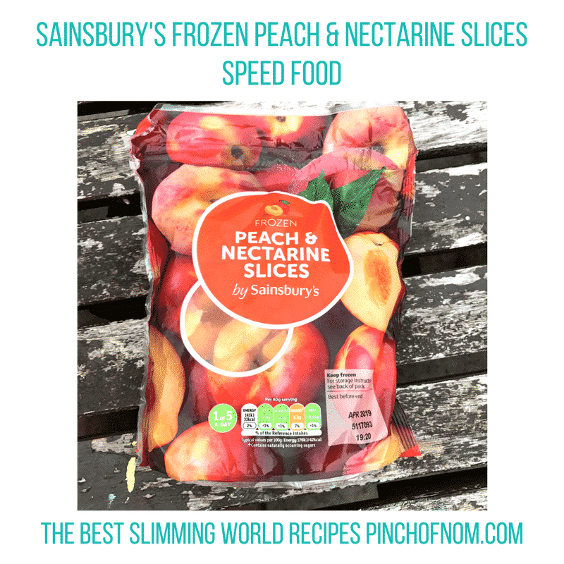 peach and nectarine slices - pinch of nom slimming world essentials may 2017