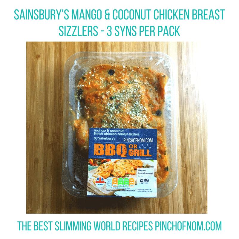 sainsburys mango and coconut bbq chicken