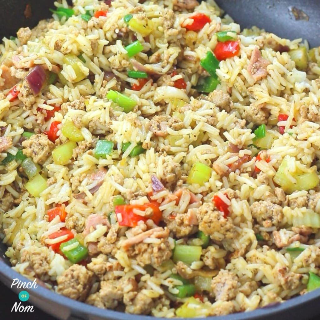 Dirty Rice | Slimming & Weight Watchers Friendly