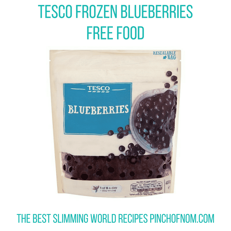 blueberries - pinch of nom slimming world shopping essentials may