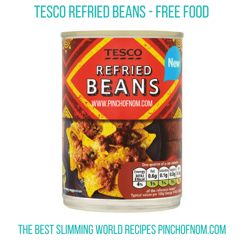 tesco refried beans - New Slimming World Shopping Essentials - 25:5:17