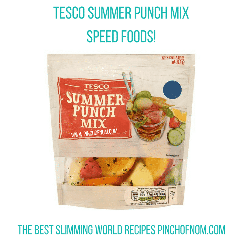tesco summer punch mix - - pinch of nom slimming world shopping essentials may