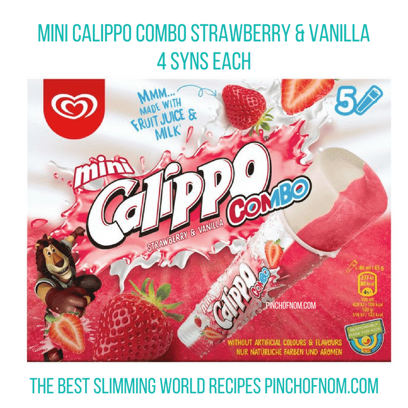 walls mini calippo - pinch of nom slimming world essentials may 2017