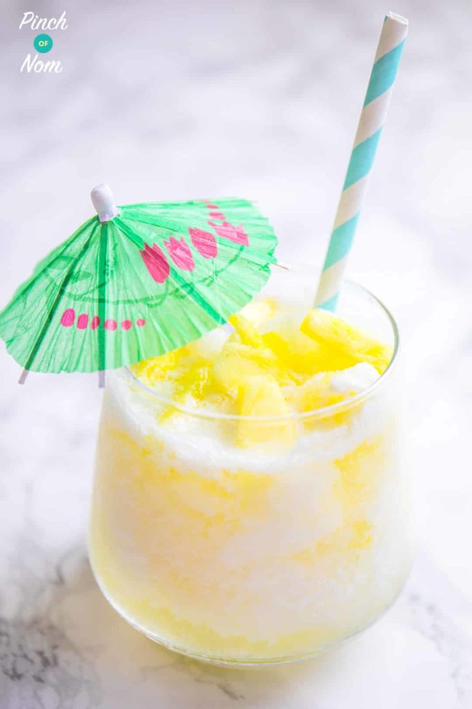 Pina Colada Cocktail | Slimming & Weight Watchers Friendly