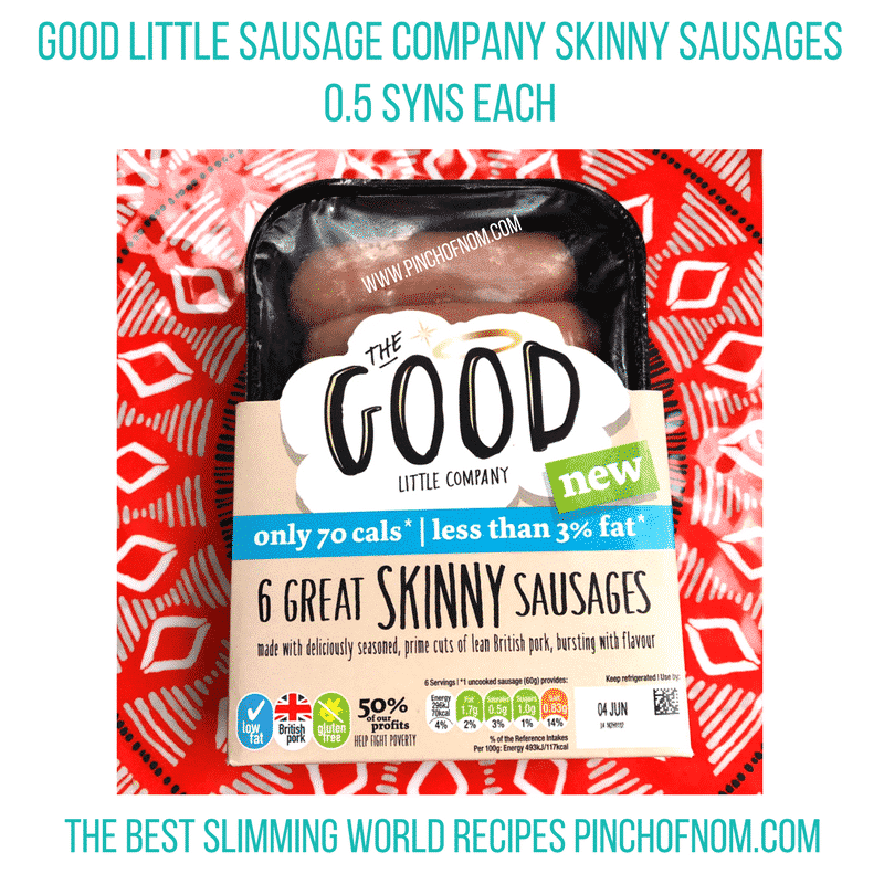 syns in Good Little Company's Skinny Sausages Review | Slimming World