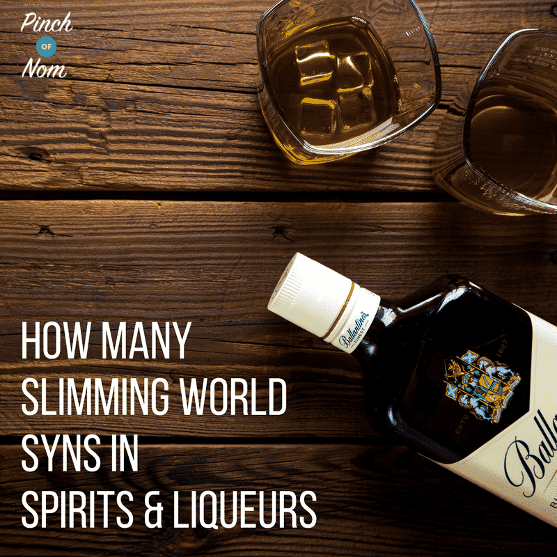 How Many Syns In Spirits & Liqueurs | Slimming World