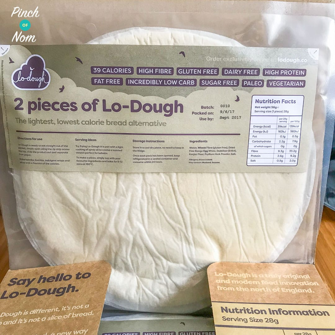 Lo-Dough - The 2 Syn Pizza Base - Review | Slimming World