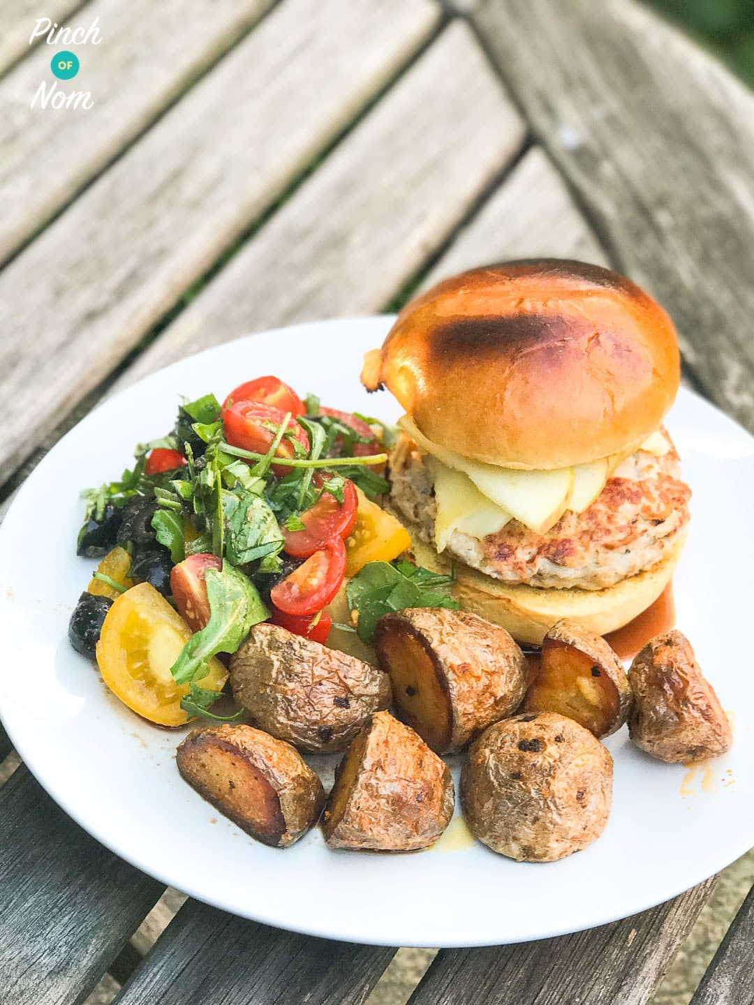 Low Syn Pork and Apple Burgers | Slimming World-3