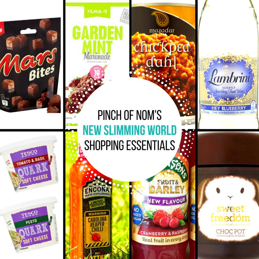 New Slimming World Shopping Essentials 23 6 17 Pinch
