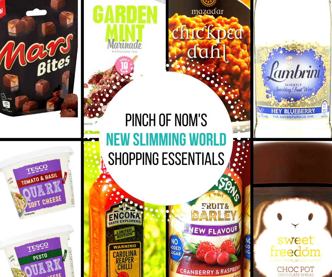 New Slimming World Shopping Essentials - 23/6/17
