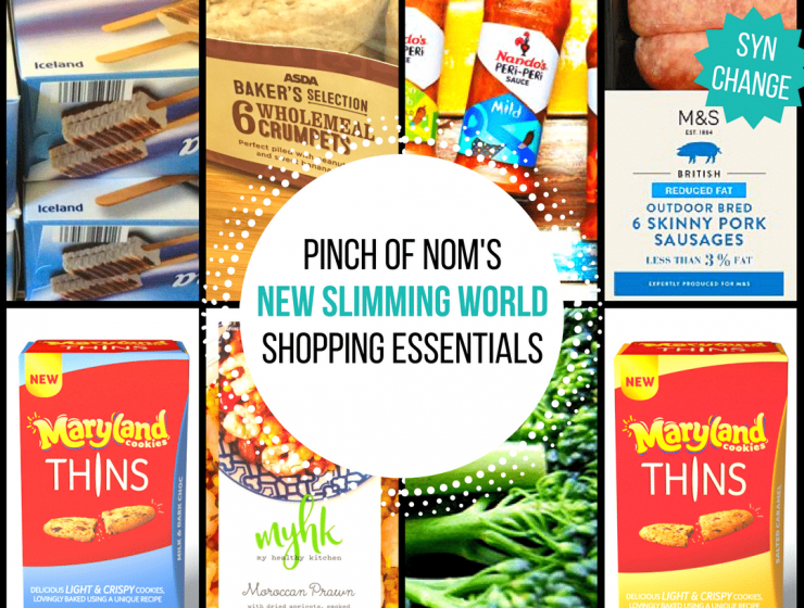 New Slimming World Shopping Essentials 9:6:17
