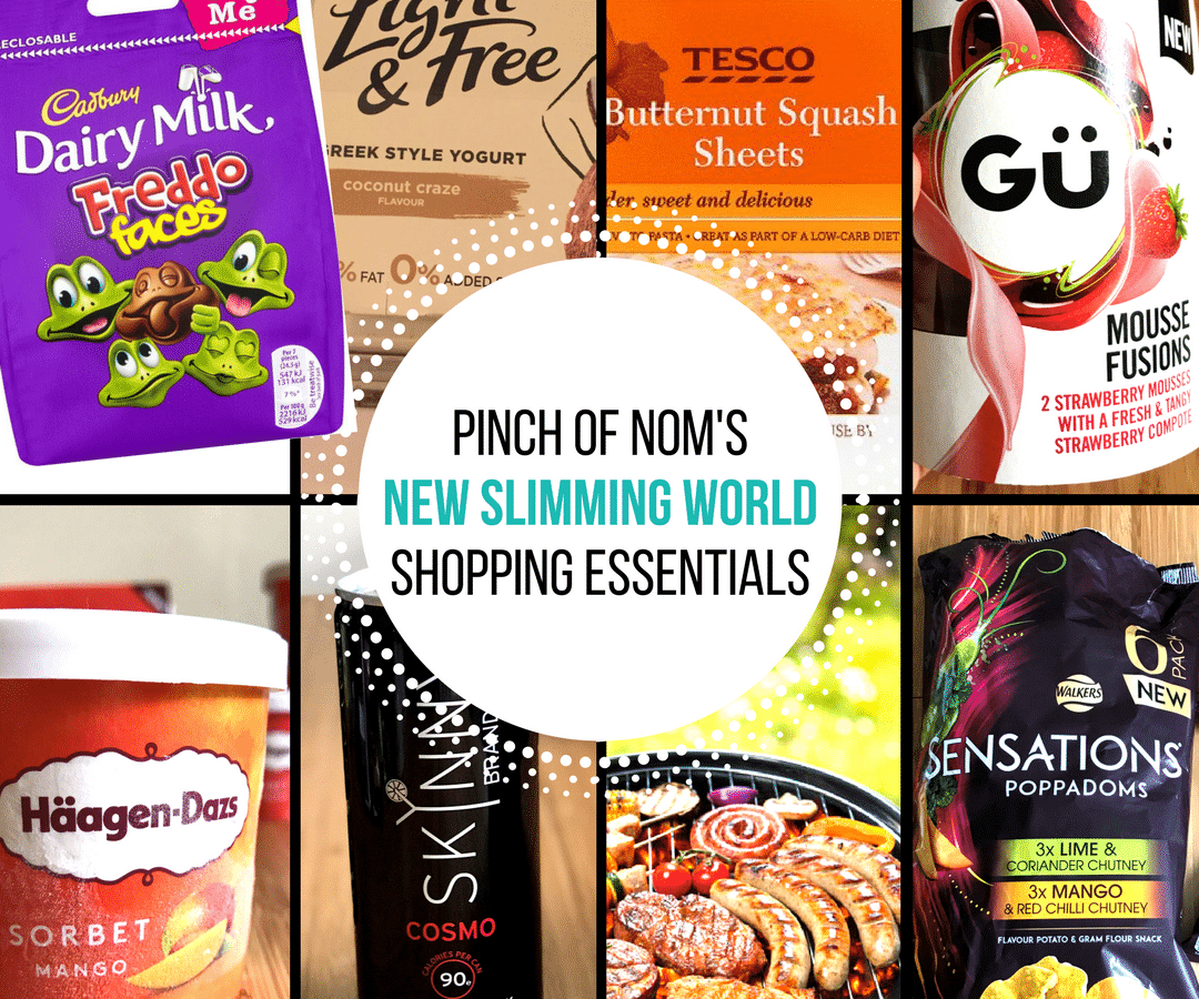 New Slimming World shopping essentials-june