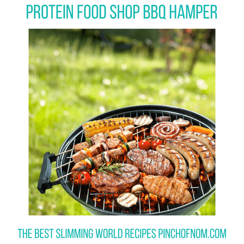 PFS BBQ - new Slimming World shopping essentials