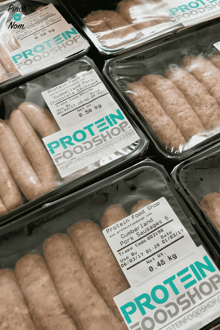 Protein Food Shop Sausages Review