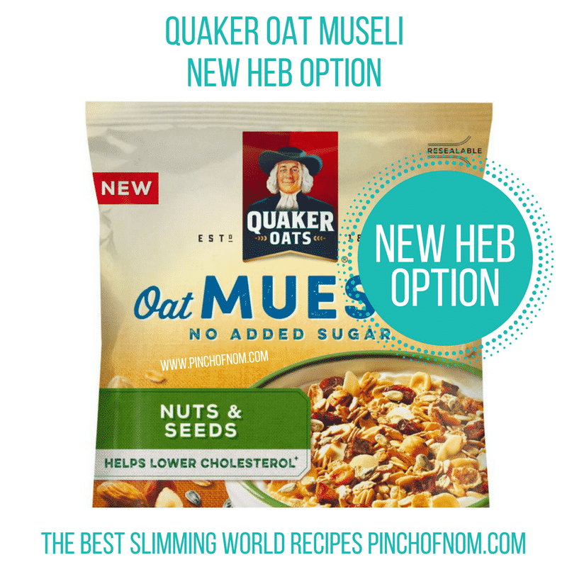 Quaker Museli - New Slimming World Shopping Essentials