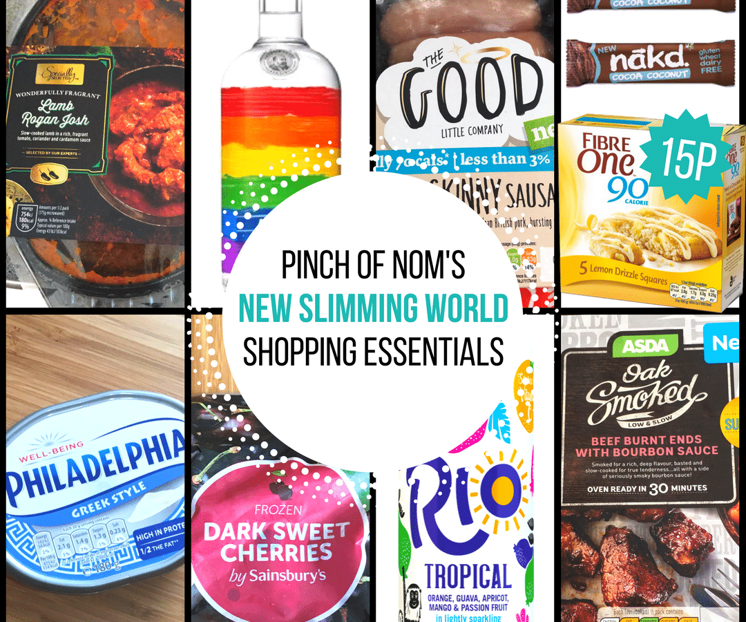 New Slimming World Shopping Essentials