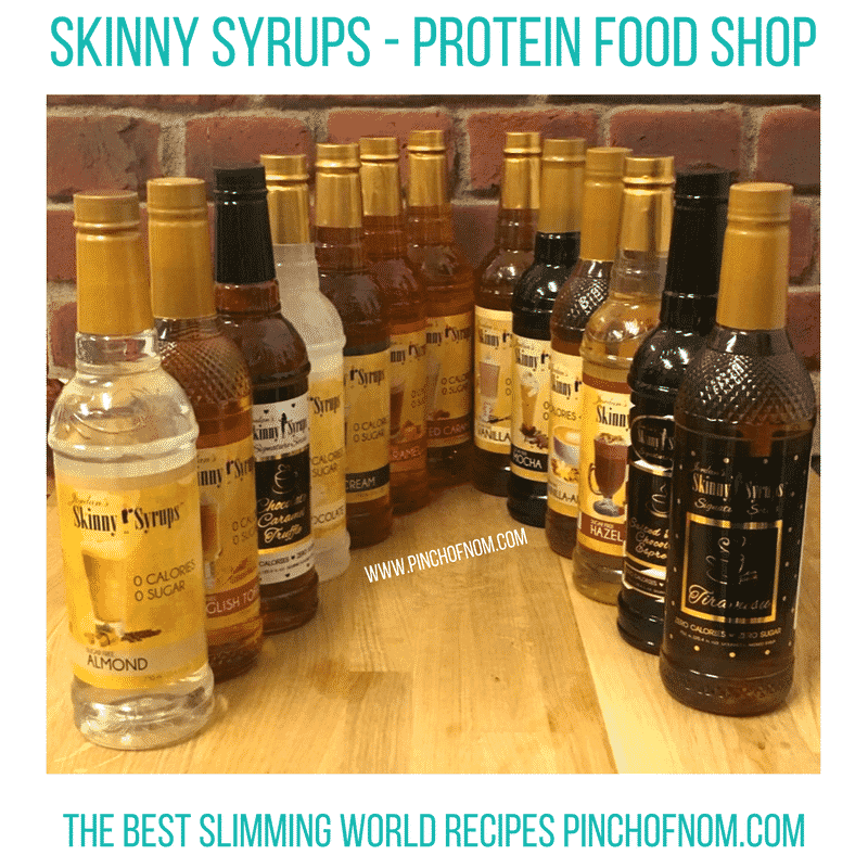 Skinny syrups - New Slimming World Shopping Essentials - 23:6:17