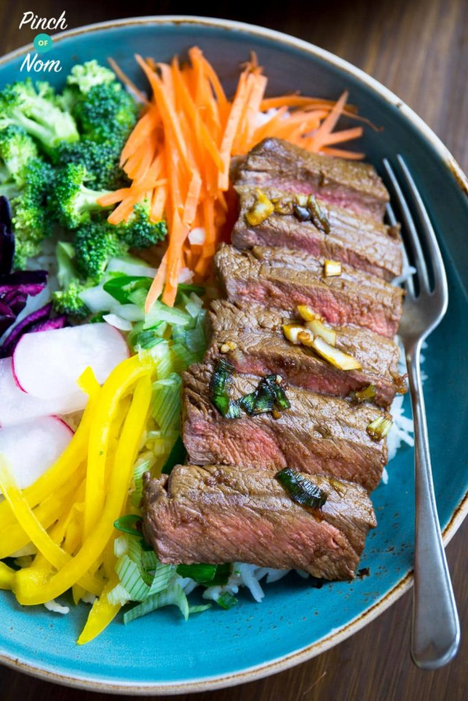 Korean BBQ Beef (Bulgogi)   Slimming & Weight Watchers Friendly