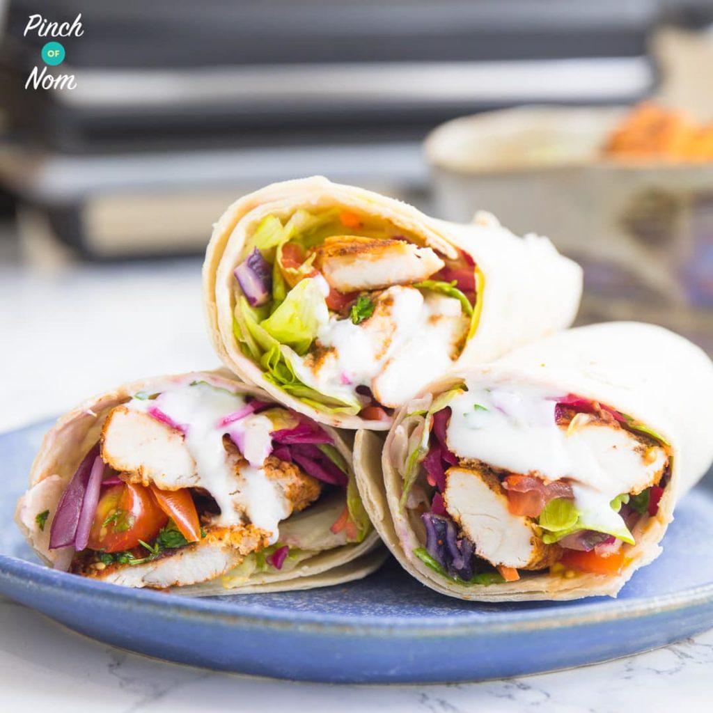 Chicken Shawarma pinchofnom.com