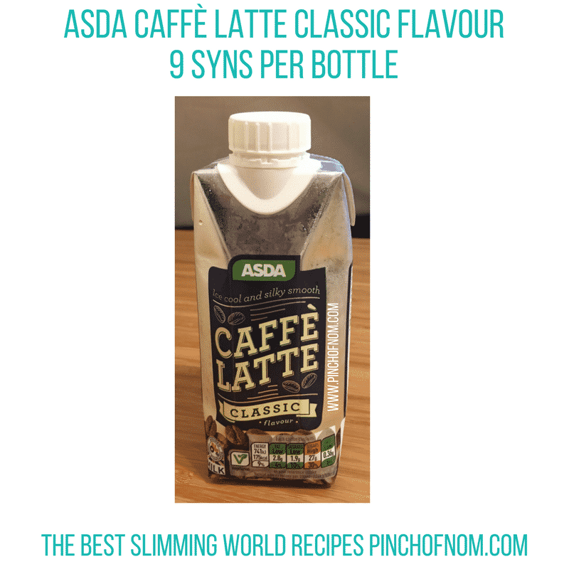 asda caffee lattee New Slimming World Shopping Essentials