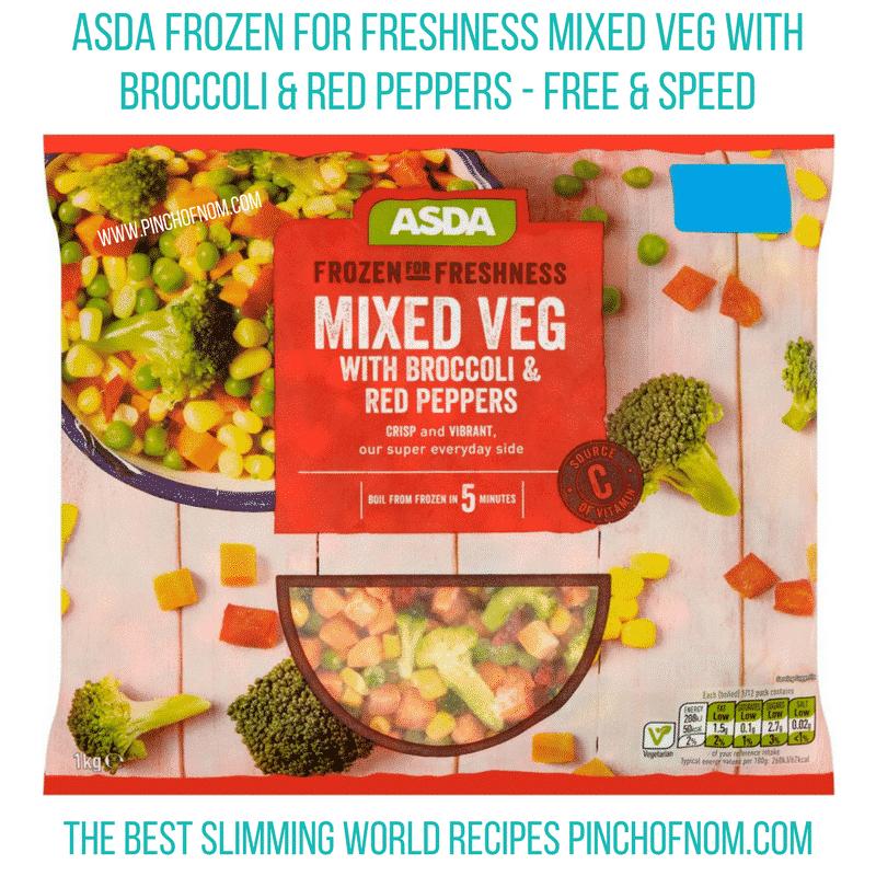 asda frozen for freshness 2 - new slimming world essentials pinch of nom