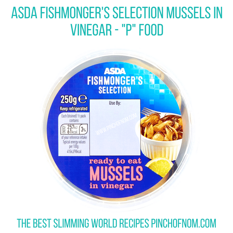 asda mussels - New Slimming World Shopping Essentials - 23:6:17