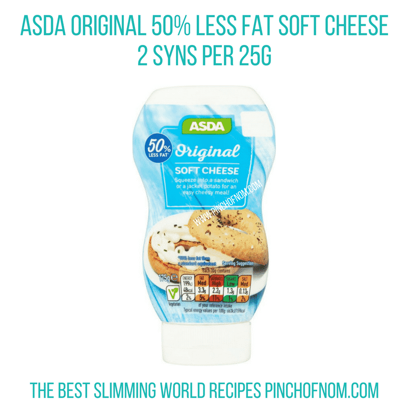 asda squirty cheese New Slimming World Shopping Essentials