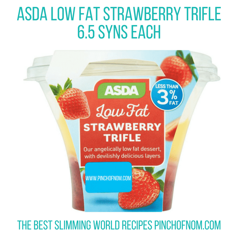 asda trifle New Slimming World Shopping Essentials