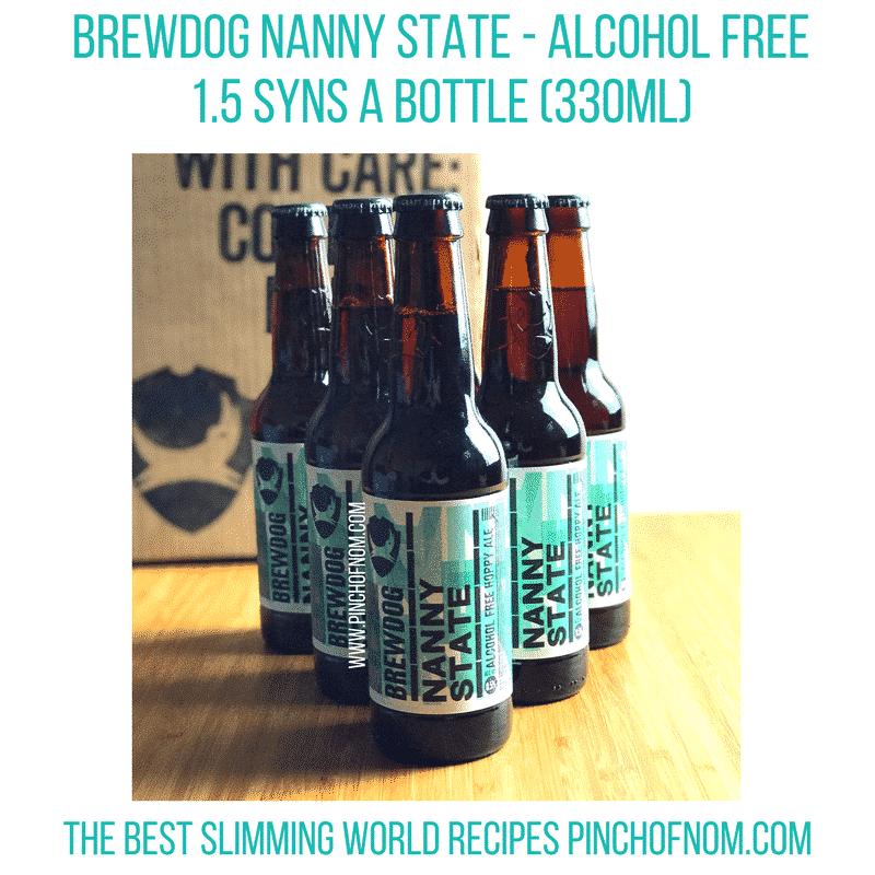 brewdog nanny state bottles - new slimming world essentials pinch of nom