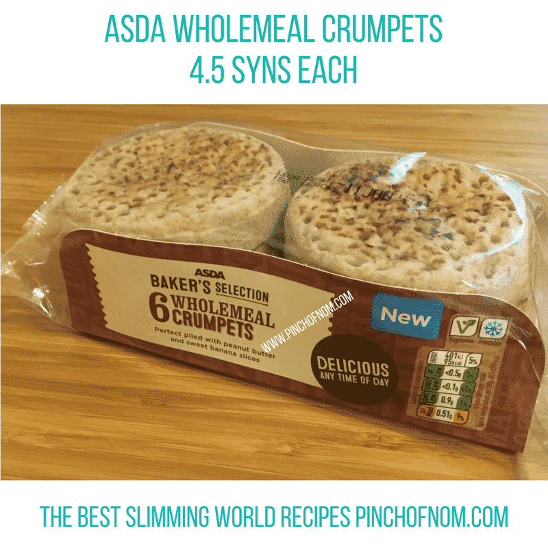 crumpets - New Slimming World Shopping Essentials 9:6:17