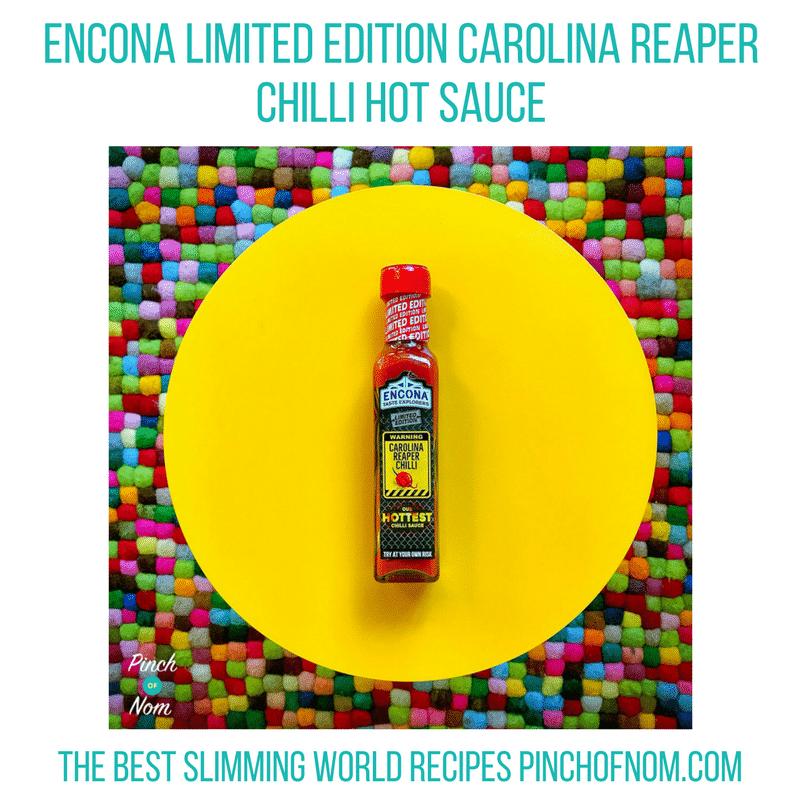 encona carolina repear hot sauce New Slimming World Shopping Essentials - 23:6:17