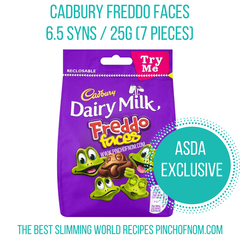freddo faces - new Slimming World shopping essentials