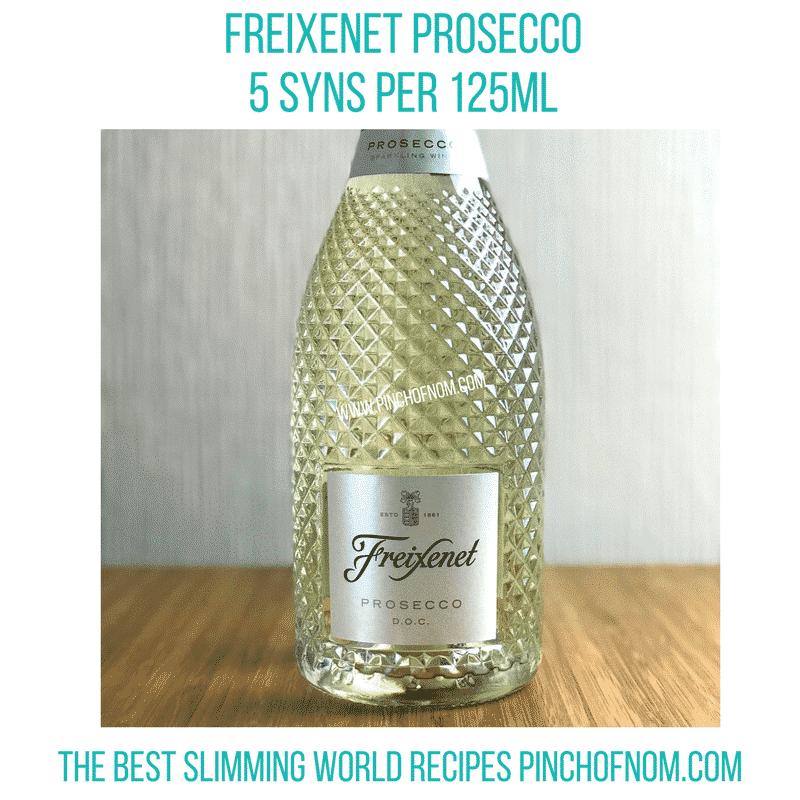 freizenet prosecco - new slimming world essentials pinch of nom