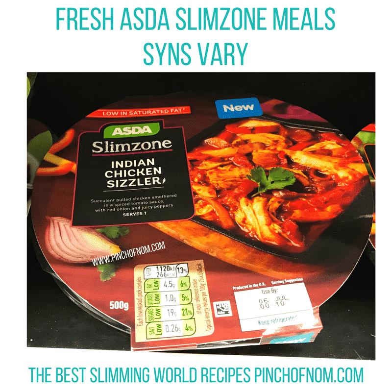 fresh asda slimzone meal 2 - new slimming world essentials pinch of nom