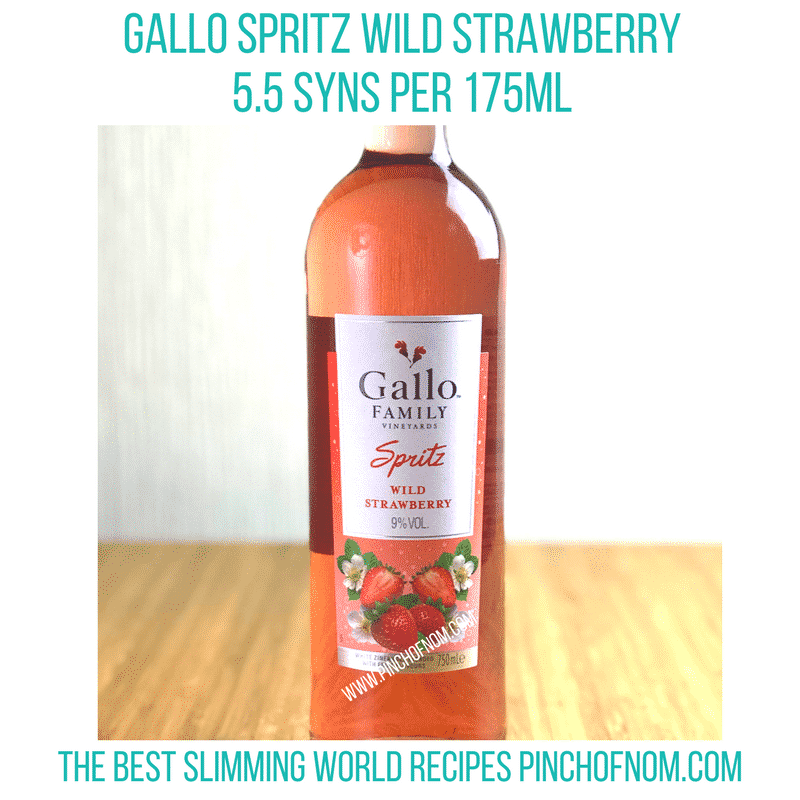 gallo spritz - new slimming world essentials pinch of nom