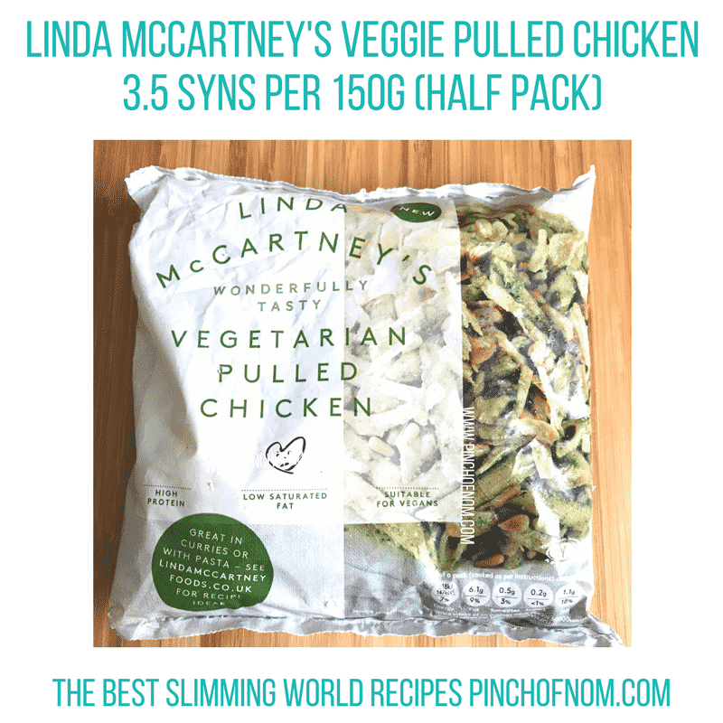 linda mccartney pulled chicken - new Slimming World shopping essentials