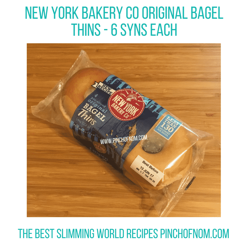 original bagels New Slimming World Shopping Essentials