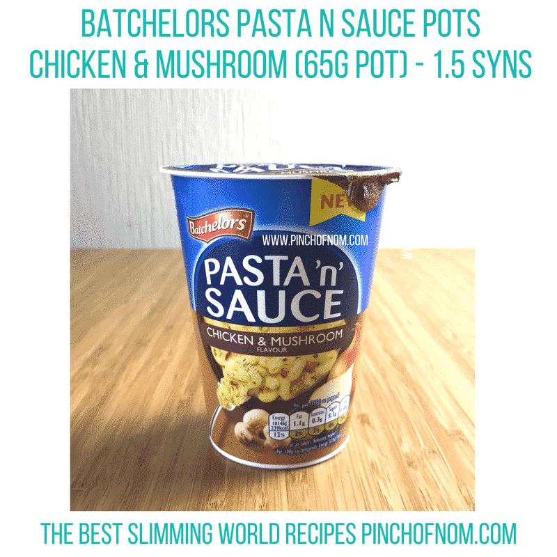 pasta n sauce chicken and mushroom - new slimming world essentials pinch of nom